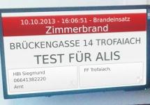 Feuerwehr Alarm-Informations-System ALIS